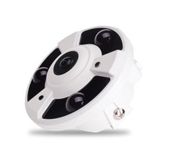 Indoor 30M IR 2.0M Pixel HD-AHD 360 Deg Fisheye Camera