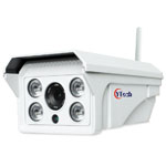 80M IR 1.3M Pixel HD wireless Wifi waterproof outdoor Bullet IP Camera
