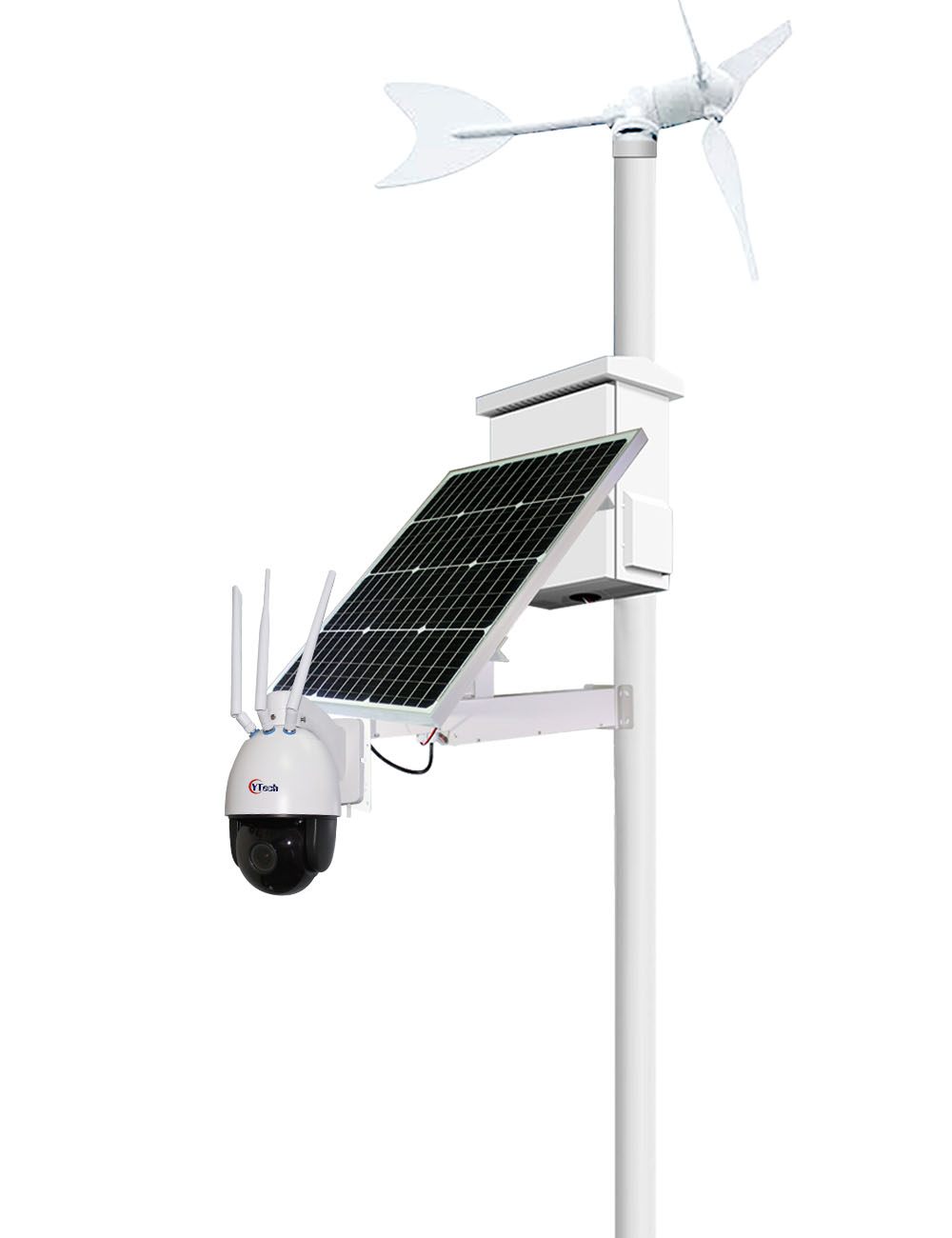 KDB Series Solar 4G PTZ Camera Kits